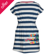 Frugi Bryher Fish Boat Neck Dress