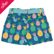 Frugi Martha Jazzy Pineapples Summer Shorts