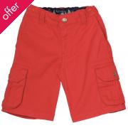 Frugi Explorer Shorts - Tomato