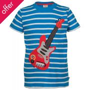 Frugi Fowey Applique Guitar T-Shirt