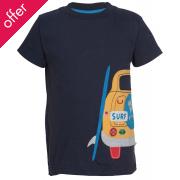 Frugi Stanley Applique Car T-Shirt