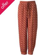 Nomads Cintia Harem Trousers - Terracotta