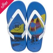 Rider Kids Energy R1 Flip Flops - Blue & White