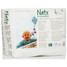 Naty by Nature Babycare Pull On Disposable Pants - Maxi/Maxi Plus - Size 4 - Pack of 22