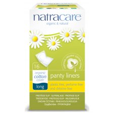 Natracare Organic and Natural Individually Wrapped Panty Liner - Long