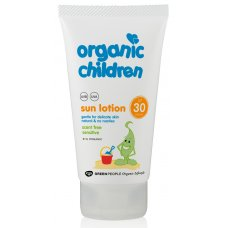 Green People Children's Scent-Free Sensitive Sun Lotion SPF30 - 150ml