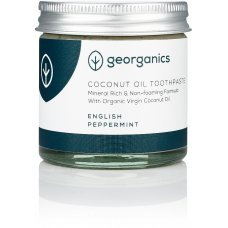Georganics Natural Coconut Toothpaste - English Peppermint - 60ml