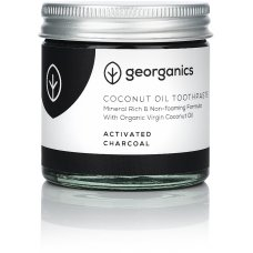Georganics Natural Coconut Toothpaste - Activated Charcoal - 60ml