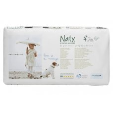 Naty by Nature Nappies Economy Pack - Medium 4+ - 44 nappies