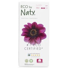 Naty by Nature Tampons Applicator - Super - 14 pcs