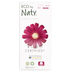 Naty by Nature Tampons Applicator - Super+ - 14 pcs