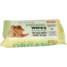 Beaming Baby Organic Baby Wipes - Pack of 72