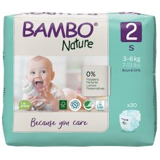 Bambo Nature Disposable Nappies - Mini - Pack of 30