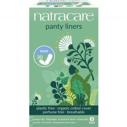Natracare Organic Cotton Panty Liners - Mini  - 30