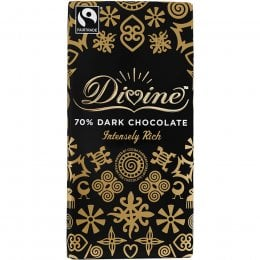 Divine 70 percent  Dark Chocolate - 100g