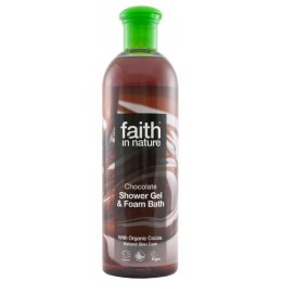 Faith In Nature Chocolate Shower Gel & Bath Foam - 400ml