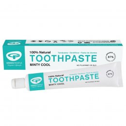 Green People Minty Cool Fluoride Free Toothpaste - 50ml