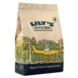 Lilys Kitchen Organic Chicken & Vegetable Bake For Dogs - 1Kg