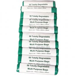 d2w Multi Purpose Degradable Bags - 4L - Pack of 50