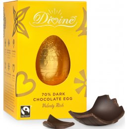 Divine Dark Chocolate Easter Egg - 55g