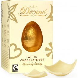 Divine White Chocolate Easter Egg - 55g