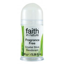 Faith in Nature Natural Crystal Deodorant Stick - 100g