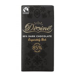 Divine 85 percent  Dark Chocolate sharing bar
