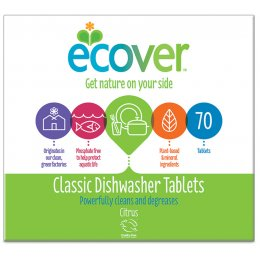 Ecover Dishwasher Tablets XL Pack - Citrus