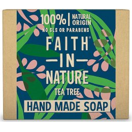 Faith in Nature Tea Tree Soap - 100g