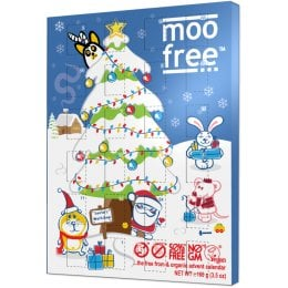 Moo Free Dairy Free Milk Chocolate Advent Calendar - 120g