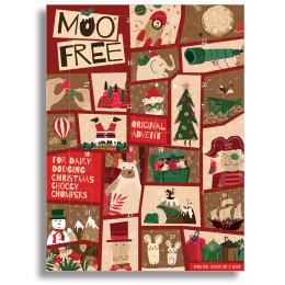 Moo Free Dairy Free Milk Chocolate Advent Calendar - 70g