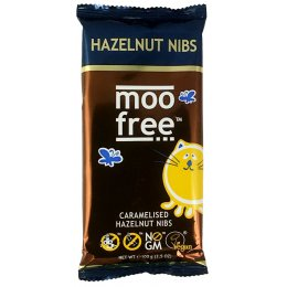 Dairy Free Caramelised Hazelnut Chocolate Bar 100g