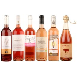 Box of 6 Organic Roses Wines