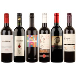 Box of 6 Mellow Organic Red Wines