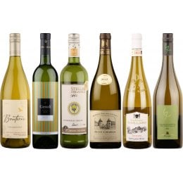 Box of 6 Premium Organic White Wines