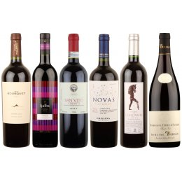Box of 6 Premium Organic Red Wines
