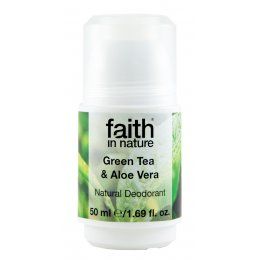 Faith In Nature Aloe Vera & Green Tea Roll-on Deodorant 50ml