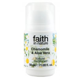 Faith In Nature Aloe Vera & Chamomile Roll-on Deodorant 50ml