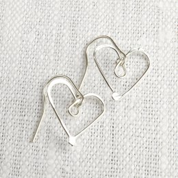 LA Jewellery Recycled Silver Give me Some Honey Earrings