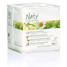 Naty Nature Womencare Sanitary Towels - Normal - Pack of 15