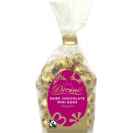 Divine Dark Chocolate Mini Eggs - 160g