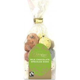 Divine Milk Chocolate Speckled Eggs - 170g