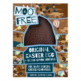 Moo Free Dairy Free Chocolate Easter Egg - 95g