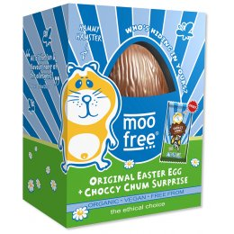 Moo Free Organic & Dairy Free Chocolate Easter Egg - 125g