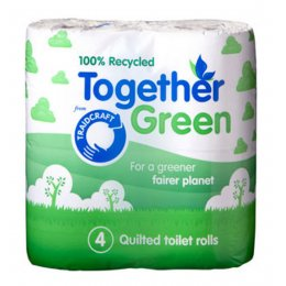 Traidcraft Recycled Toilet Tissue (4 rolls)