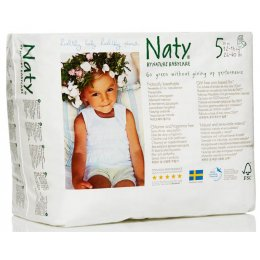 Naty by Nature Babycare Pull On Disposable Pants - Junior - Size 5 - Pack of 20