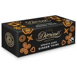 Divine Dark Chocolate Ginger Thins