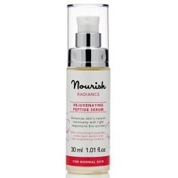 Nourish London Radiance Rejuvenating Rose Peptide Serum 30ml