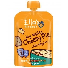 Ellas Kitchen Big Smiles Cheesy Pie 130g