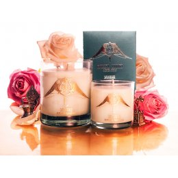 M&J London Samadhi Rose Soy Candle - Large